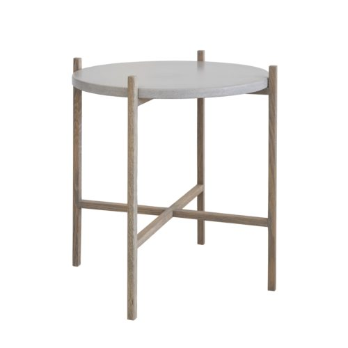 DE Sticks and Stones Round Side Table