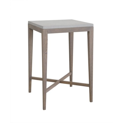 DE Sticks and Stones Square Side Table
